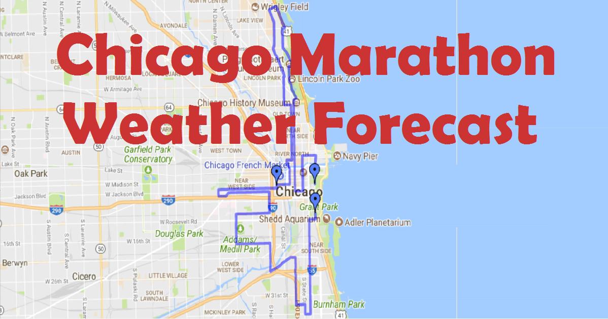 2017 Chicago Marathon Course Weather Forecast Tool